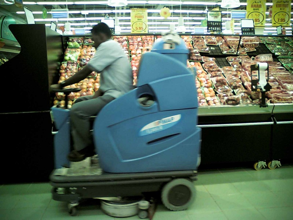 Grocery zamboni for Floor zamboni